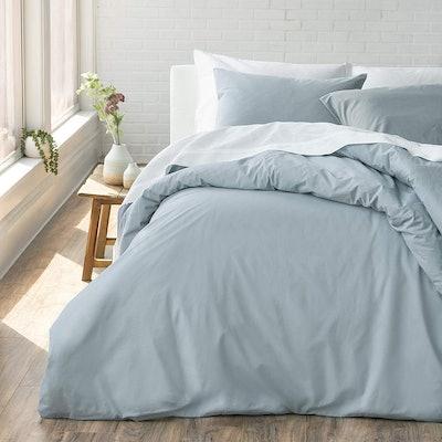 Wellhome 100% Cotton Percale Duvet Set