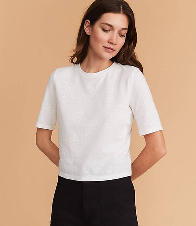 Softserve Slub Cropped Tee