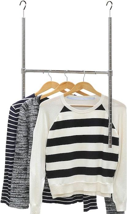 Simple Houseware Adjustable Closet Hanging Rod