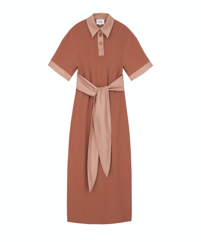 Leila Block Polo Dress