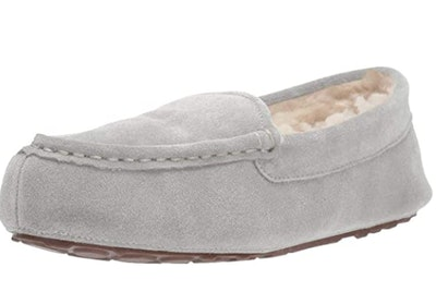 Amazon Essentials Leather Moccasin Slippers