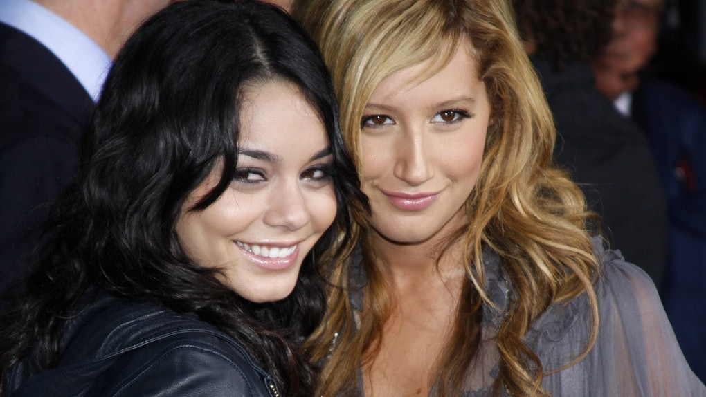 """Vanessa Hudgens and Ashley Tisdale's TikTok to """"We're All In This Together"""" shows the stars are still close friends."""