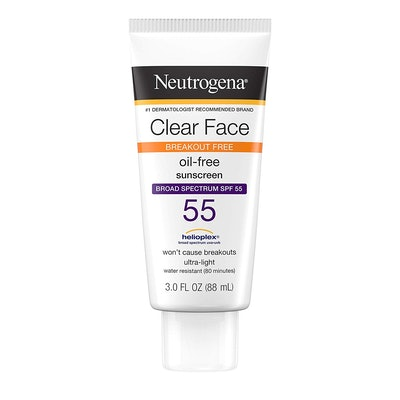 Neutrogena Clear Face Liquid Lotion Sunscreen