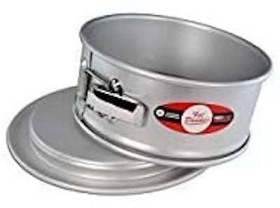 Fat Daddio's Springform Cake Pan (8 by 3 Inches)