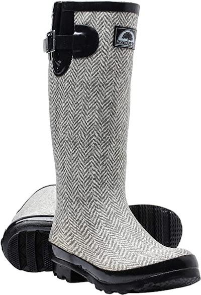 Brown Oak Rebecca Rain Boots