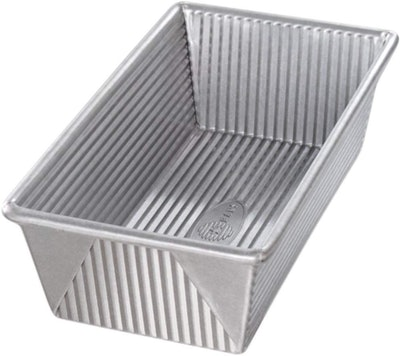 USA Pan Bakeware Aluminized Steel Loaf Pan (9 by 5 by 2.75 Inches)