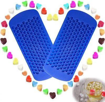 VIWIEU Small Ice Cubes Mold Maker (2-Pack)