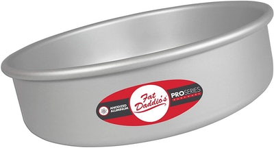 Fat Daddio's Round Cake Pan (8 by 3 Inches)
