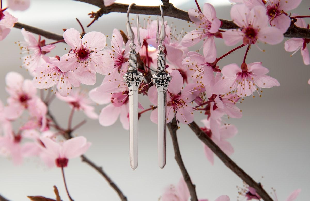 Disney's Mulan Sword Earrings