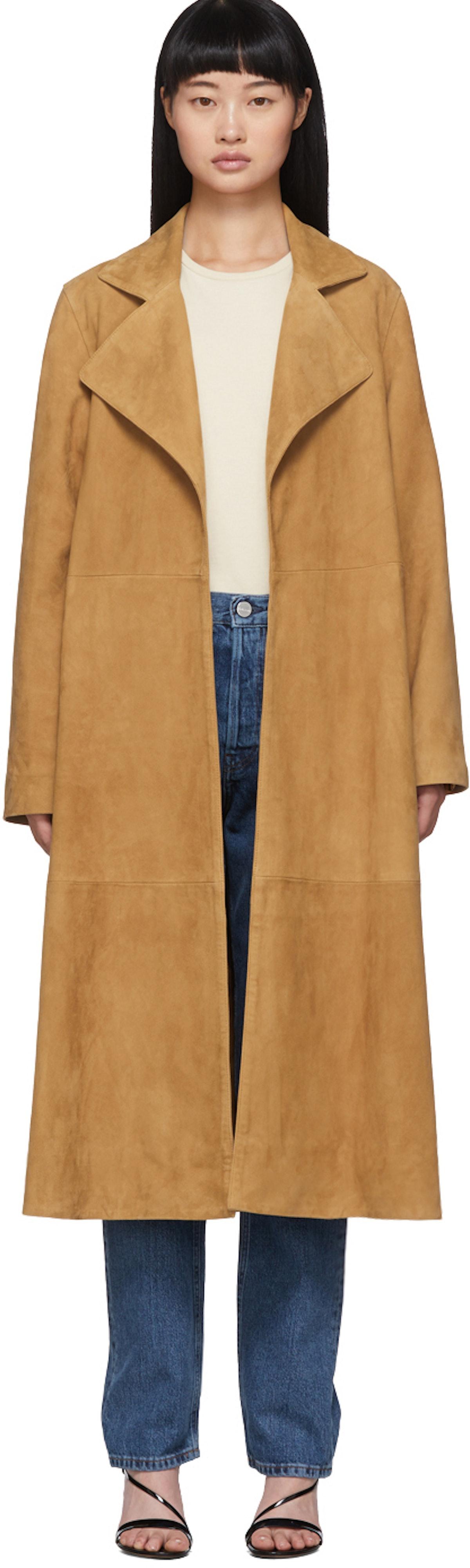 Tan Zadar Suede Coat
