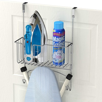 Simple Houseware Over-The-Door/Wall-Mount Ironing Board Holder