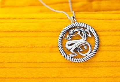 Disney's Mulan Mushu Medallion - Silver