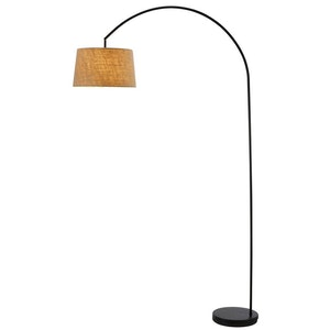 Goliath Black Arc Lamp