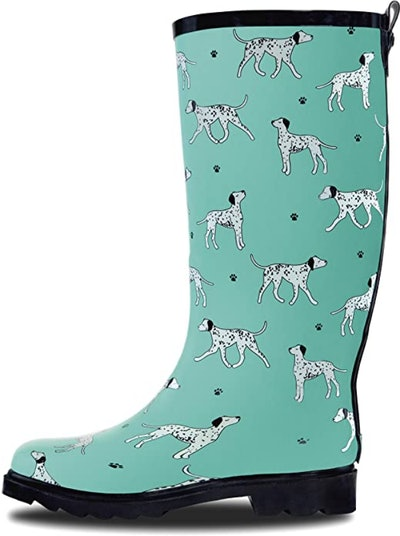 LONECONE Patterned Tall Rain Boots