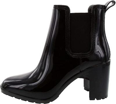 LONDON FOG Prite Heeled Rain Boot