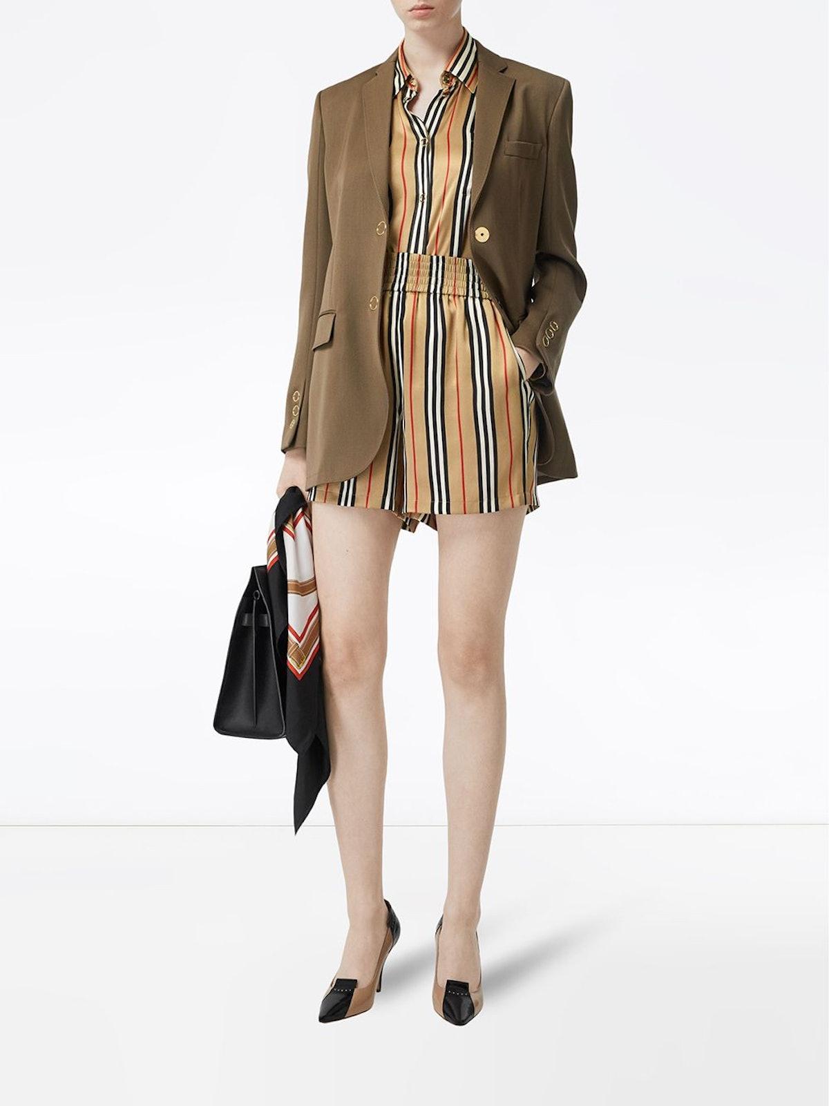 Icon Stripe Shorts