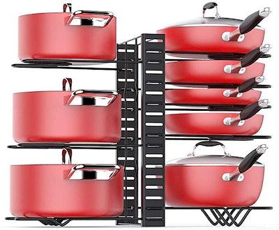 Mudeela Cabinet Pan Organizer Rack