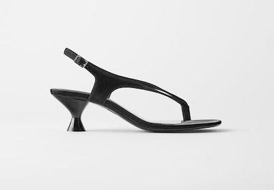 Minimalist High Heeled Sandals