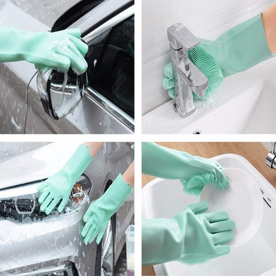 MITALOO Silicone Cleaning Gloves