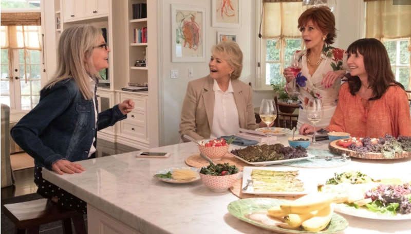 Diane Keaton and the cast of 'Book Club'
