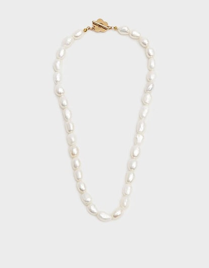 Lola Pearl Necklace in Pearl