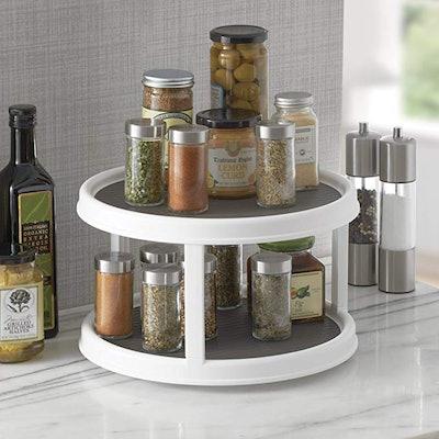 Copco Non-Skid 2-Tier Pantry Cabinet Lazy Susan