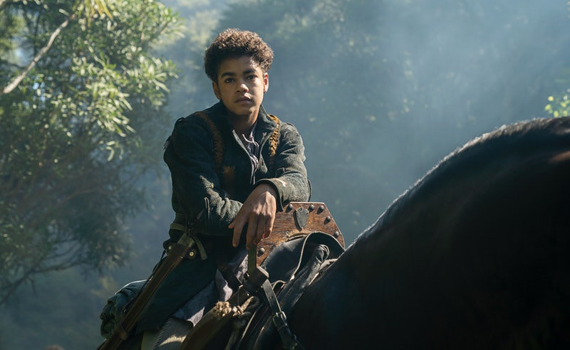 Amir Wilson in 'Letter for the King'