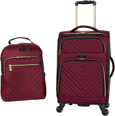 Kenneth Cole Reaction Chelsea Carry-On Suitcase And Laptop Backpack Two-Piece Set (16- And 22-Inches)
