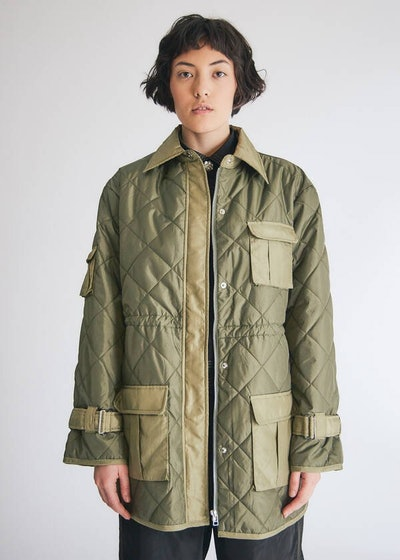 Ripstop Quilt Jacket in Kalamata
