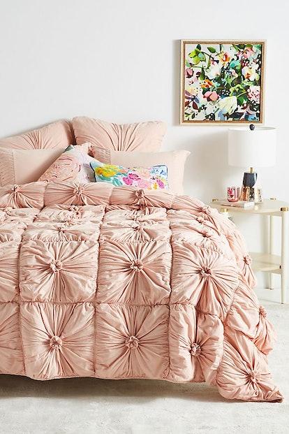 Organic Rosette Jersey Quilt