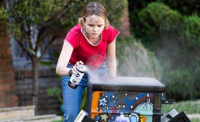 Megan Stott as Izzy in 'Little Fires Everywhere'