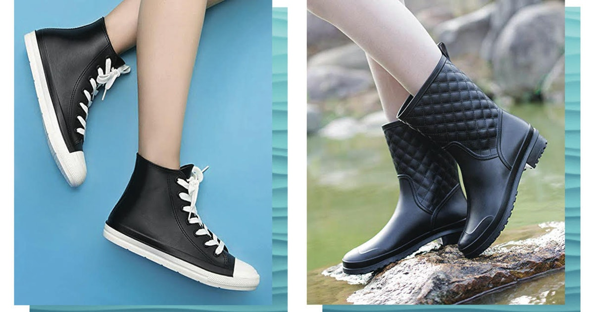 These 10 Rain Boots Look So Chic & They're Shockingly Affordable