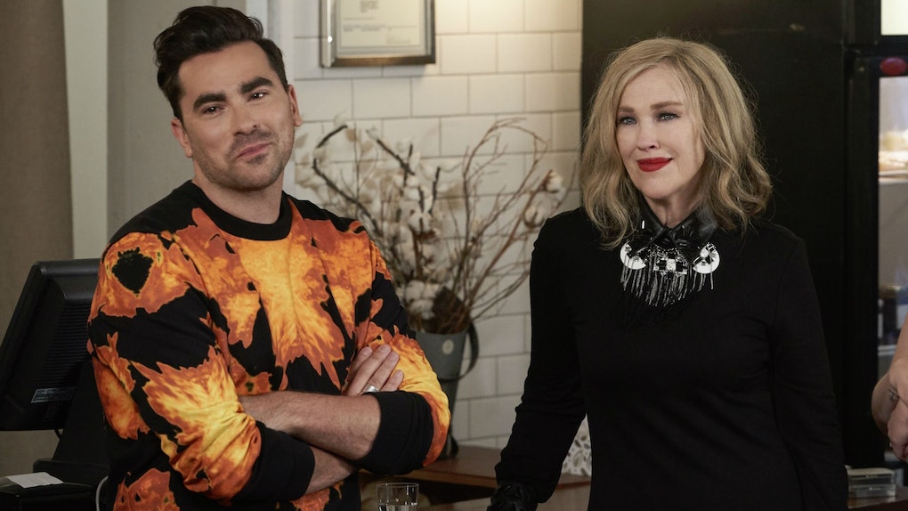 Schitt's Creek is one of the uplifting TV shows on Netflix that fans can watch