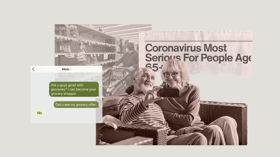 As the coronavirus spreads, millennials are finding it's hard to convince their baby boomer parents to take the pandemic seriously.