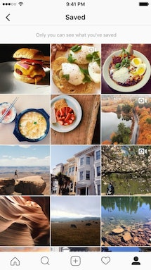 You can access your saved posts on Instagram on your profile page.