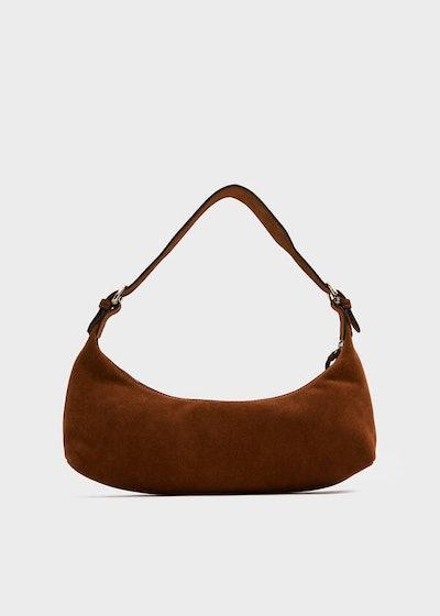Mara Bag In Brown Suede