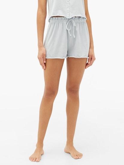 Vasara Ribbed Jersey Shorts