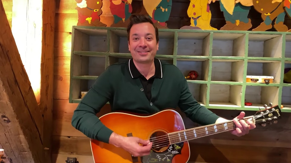 """Jimmy Fallon hosted """"The Tonight Show"""" from his home and his kids ended up stealing the spotlight as the episode's true stars."""