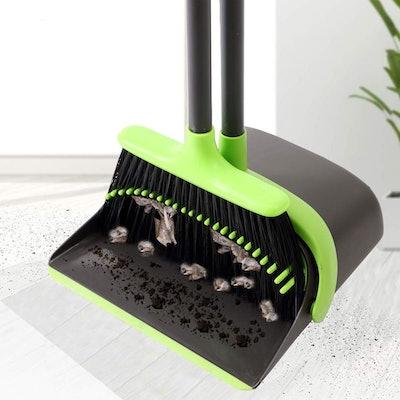 SANGFOR Broom and Dustpan