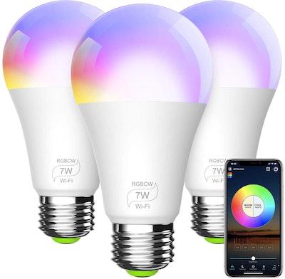 BERENNIS Smart Light Bulbs (3-Pack)