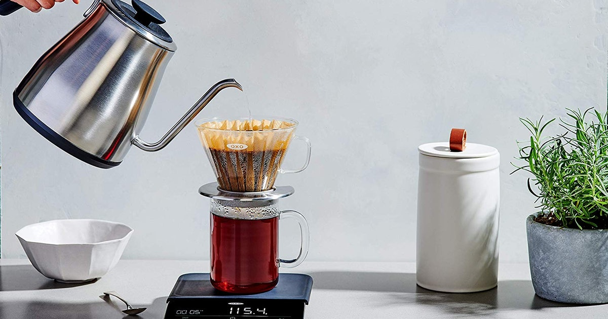 These Electric Kettles Make Brewing Fancy Coffee At Home Easier