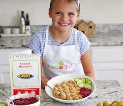 kid with raddish kids swedish eats kit