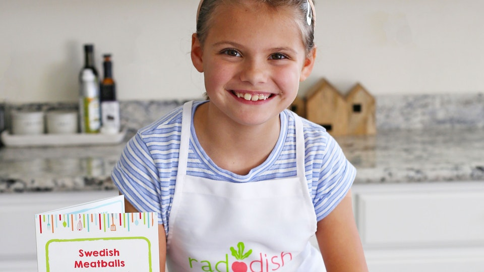 kid with raddish kids swedish eats kit