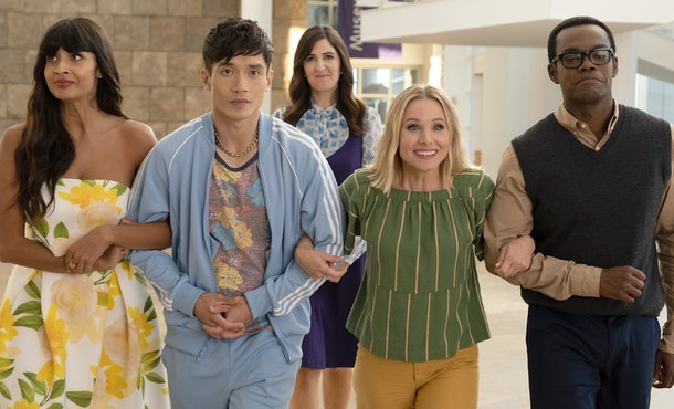 'The Good Place' is an uplifting comedy series that is streaming on Netflix.