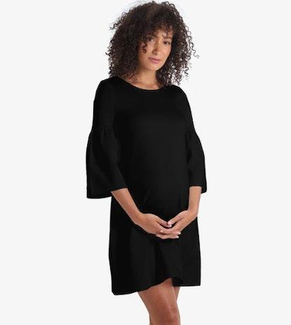 Ponte Bell Sleeve Dress
