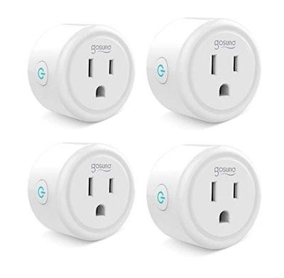 Gosund Mini Wifi Outlet (Set Of 4)