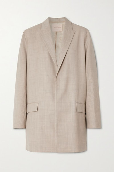 Shida Mélange Wool And Cashmere-Blend Blazer