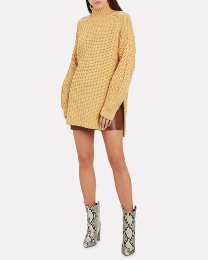 Zelma Oversized Lambswool Sweater