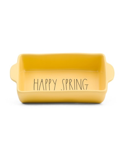 Rae Dunn Happy Spring Loaf Dish