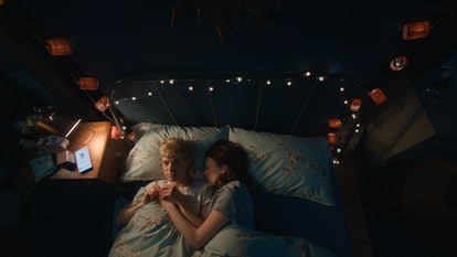 A still of Mae and George from Netflix's 'Feel Good.'